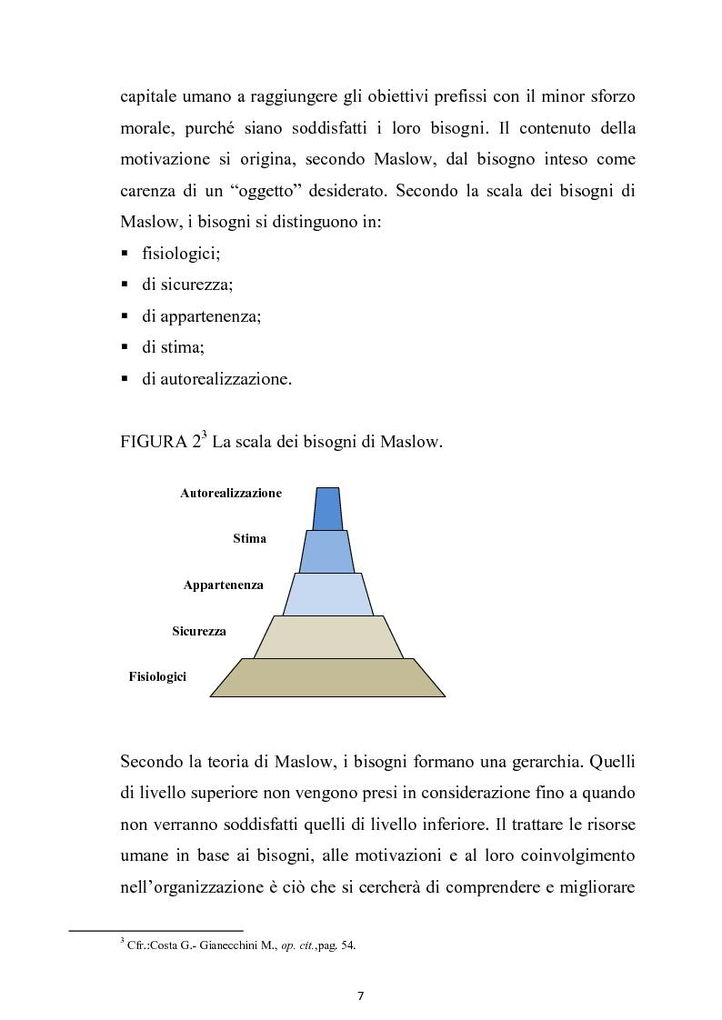 Anteprima della tesi: La gestione delle risorse umane nell'azienda autonoma delle Terme di Sciacca, Pagina 6