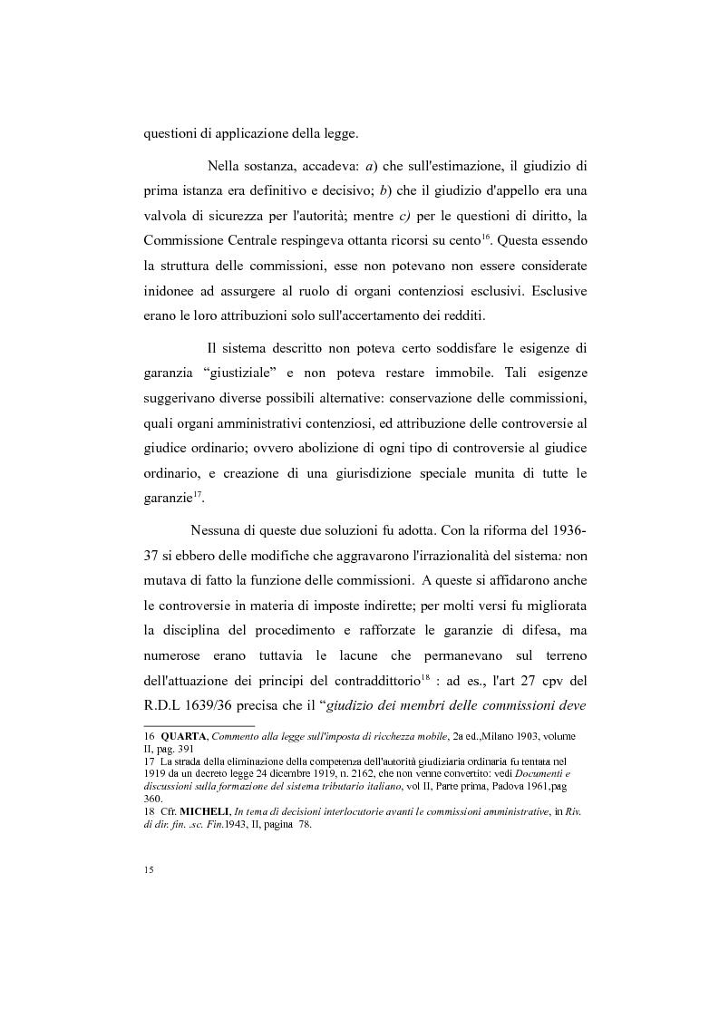 Anteprima della tesi: Il processo tributario: in particolare il Giudice Tributario., Pagina 11