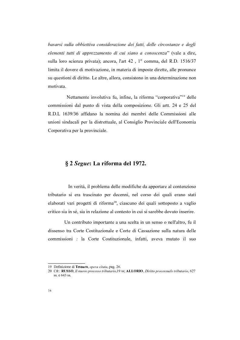 Anteprima della tesi: Il processo tributario: in particolare il Giudice Tributario., Pagina 12
