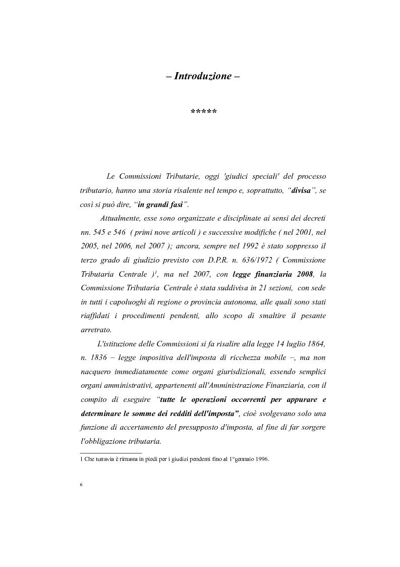 Anteprima della tesi: Il processo tributario: in particolare il Giudice Tributario., Pagina 2