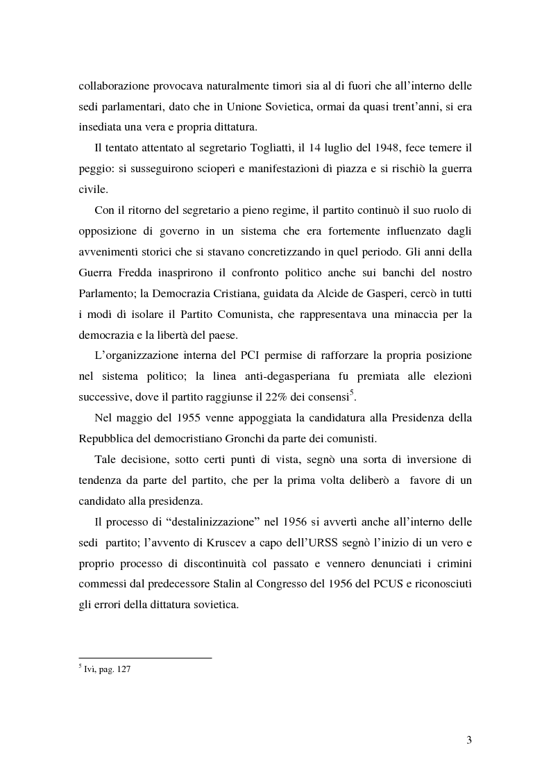 Anteprima della tesi: La Genesi del Partito Democratico, Pagina 4