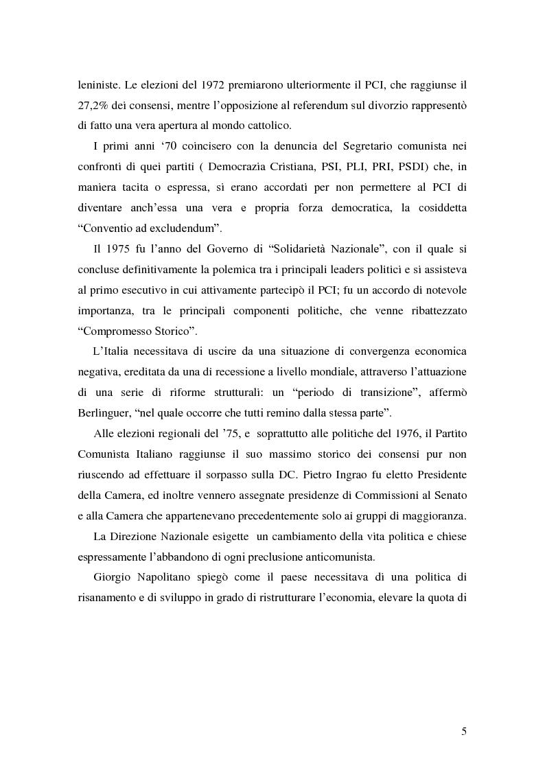 Anteprima della tesi: La Genesi del Partito Democratico, Pagina 6