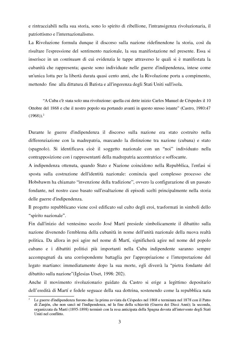 Anteprima della tesi: Nazionalismo e rivoluzione a Cuba: l'eredità di José Martí nella scuola elementare, Pagina 4