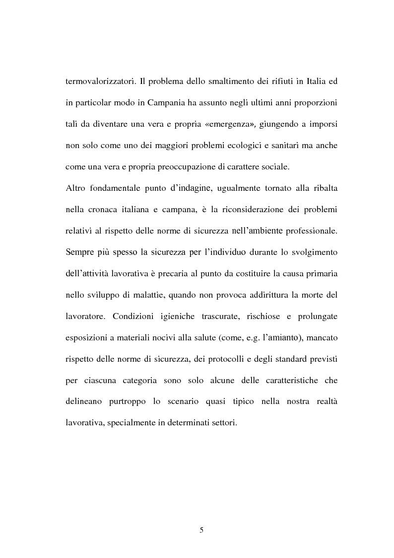 Anteprima della tesi: Soppravivenza e cause di morte in Campania e Provincia, Pagina 6