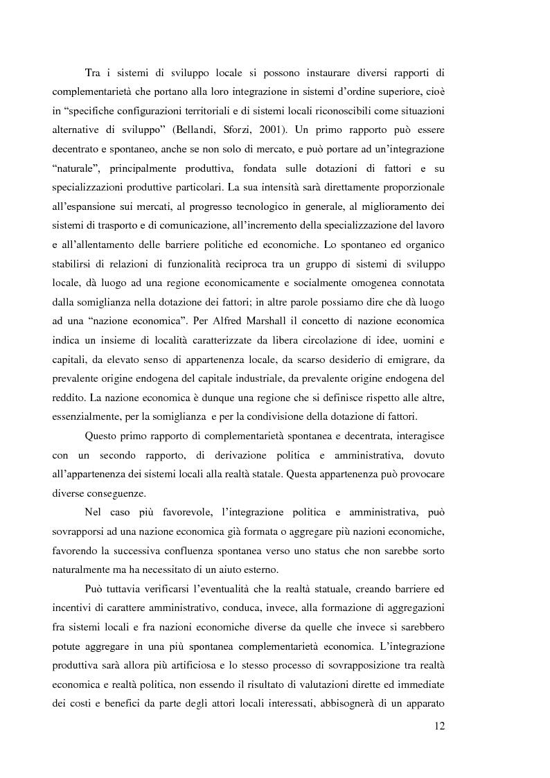Anteprima della tesi: L'internazionalizzazione dei distretti industriali: il caso del tessile abbigliamento di Carpi, Pagina 10
