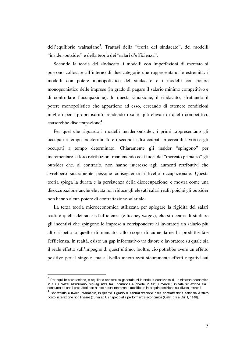Anteprima della tesi: La diffusione dei contratti atipici: costi e benefici, Pagina 4