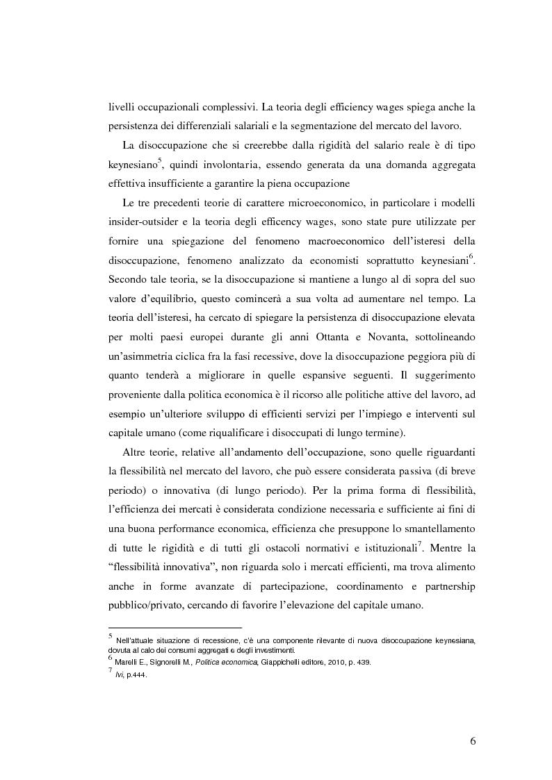 Anteprima della tesi: La diffusione dei contratti atipici: costi e benefici, Pagina 5