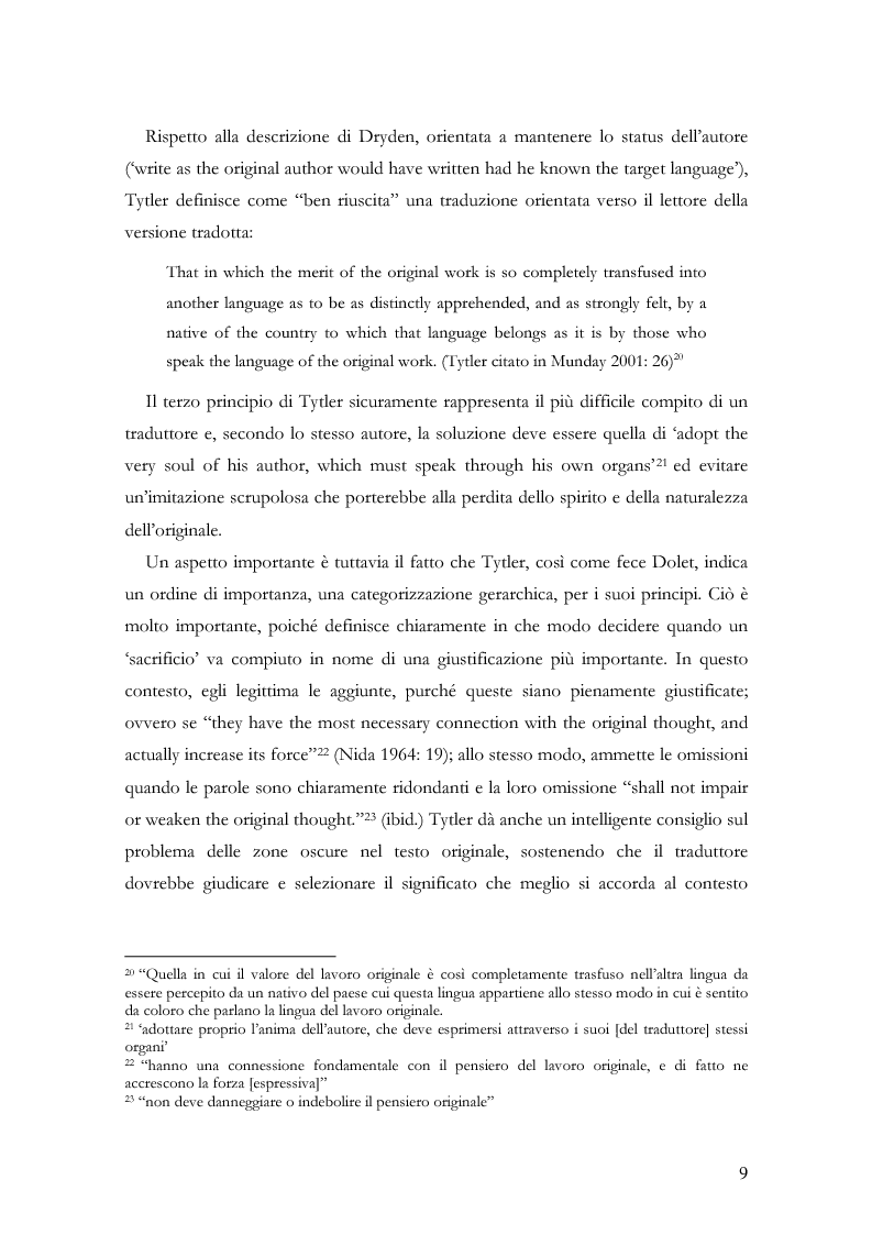 """Anteprima della tesi: Scienza della traduzione e arte del doppiaggio. Analisi contrastiva dell'adattamento italiano per la pellicola """"Los abrazos rotos"""" di Pedro Almodóvar, Pagina 13"""