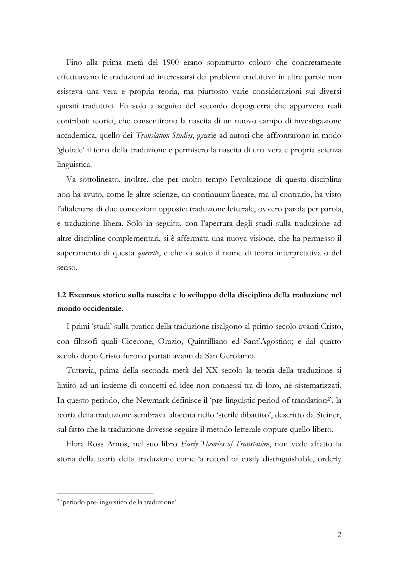 """Anteprima della tesi: Scienza della traduzione e arte del doppiaggio. Analisi contrastiva dell'adattamento italiano per la pellicola """"Los abrazos rotos"""" di Pedro Almodóvar, Pagina 6"""