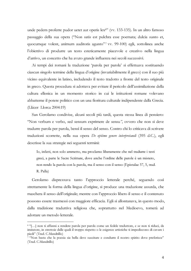 """Anteprima della tesi: Scienza della traduzione e arte del doppiaggio. Analisi contrastiva dell'adattamento italiano per la pellicola """"Los abrazos rotos"""" di Pedro Almodóvar, Pagina 8"""