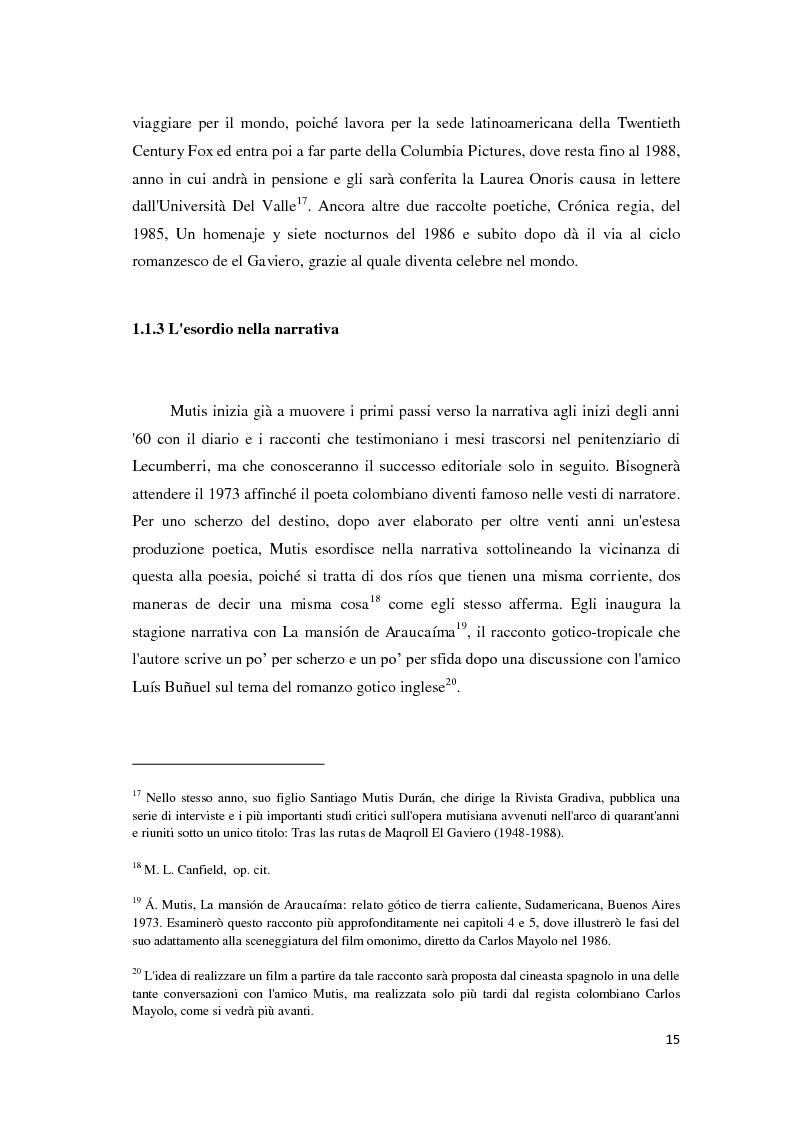 Anteprima della tesi: ''Ilona llega con la lluvia'' e ''La mansión de Araucaíma'': dalla mano dello scrittore allo sguardo del regista, Pagina 11