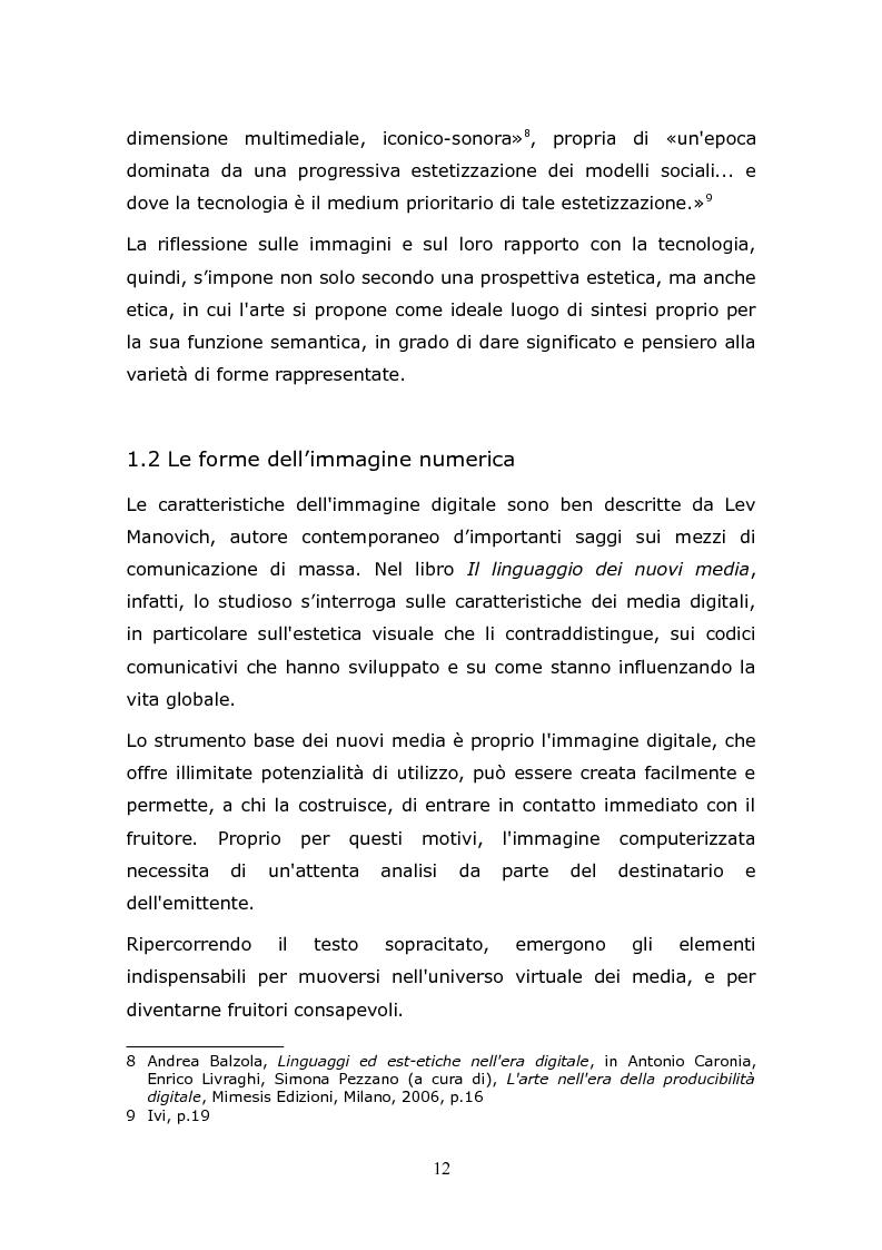 Anteprima della tesi: L'animazione digitale: storia, linguaggi, tecniche, Pagina 12