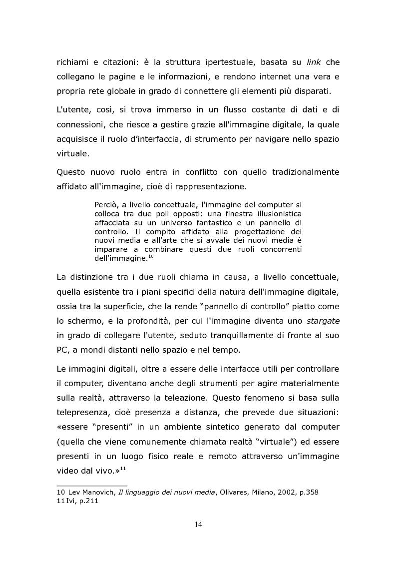 Anteprima della tesi: L'animazione digitale: storia, linguaggi, tecniche, Pagina 14