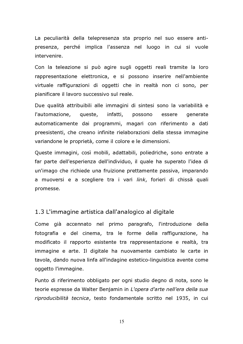 Anteprima della tesi: L'animazione digitale: storia, linguaggi, tecniche, Pagina 15