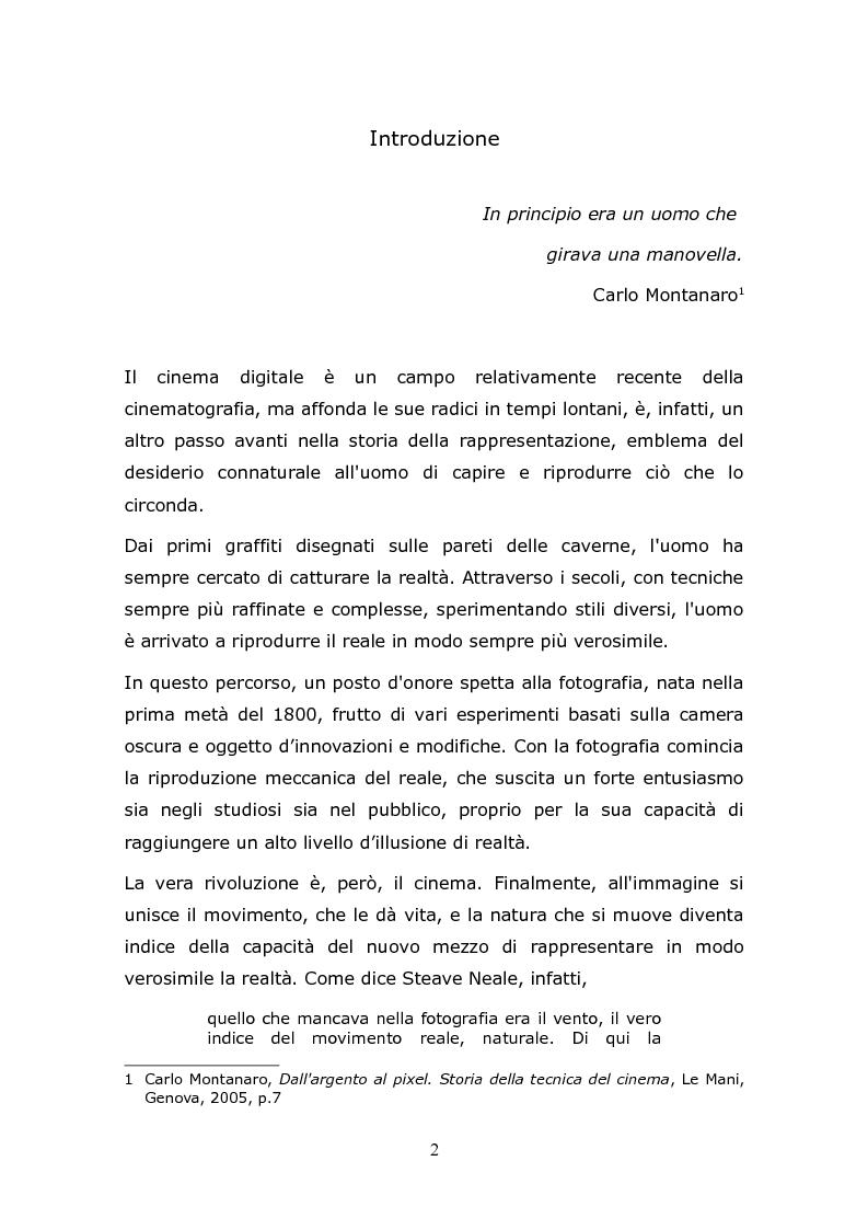 Anteprima della tesi: L'animazione digitale: storia, linguaggi, tecniche, Pagina 2