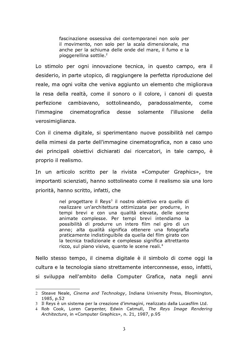 Anteprima della tesi: L'animazione digitale: storia, linguaggi, tecniche, Pagina 3