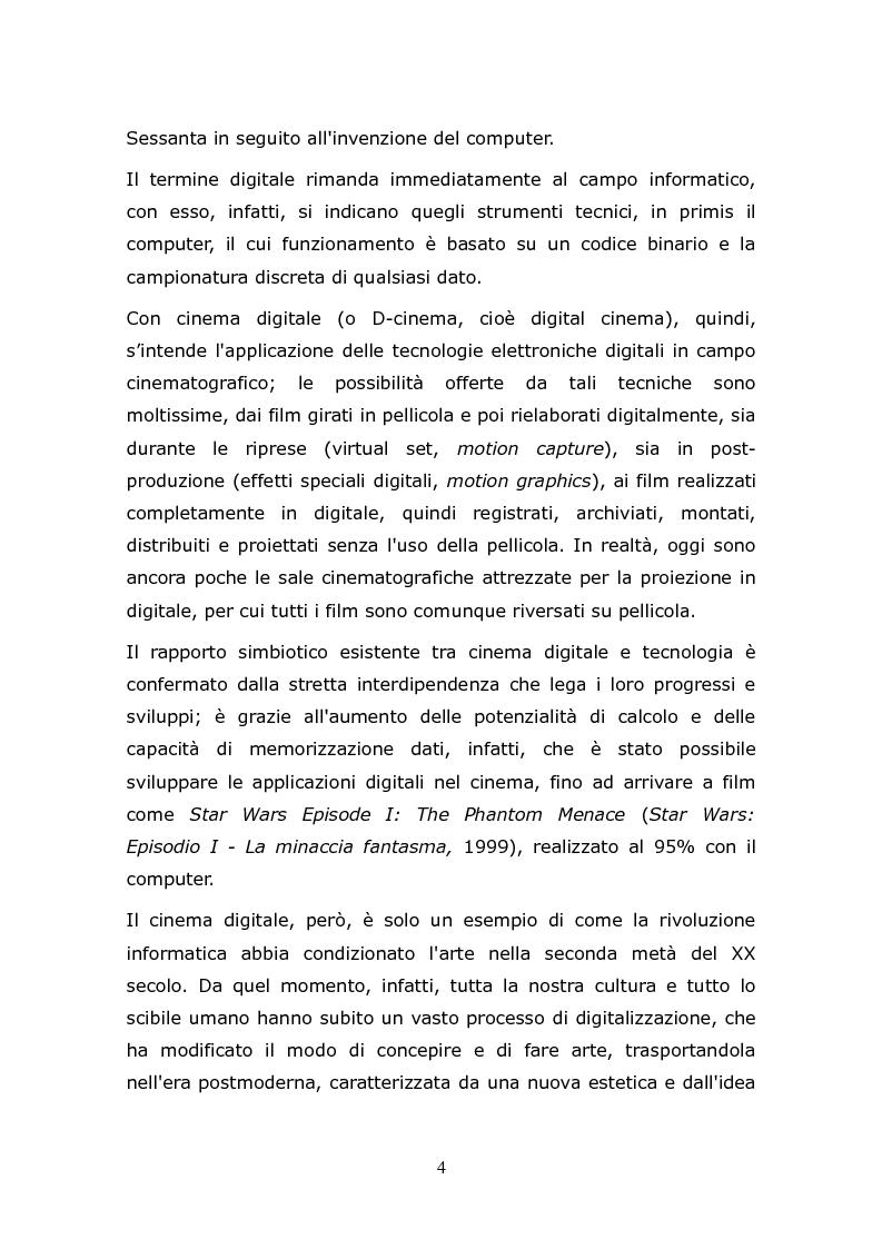 Anteprima della tesi: L'animazione digitale: storia, linguaggi, tecniche, Pagina 4