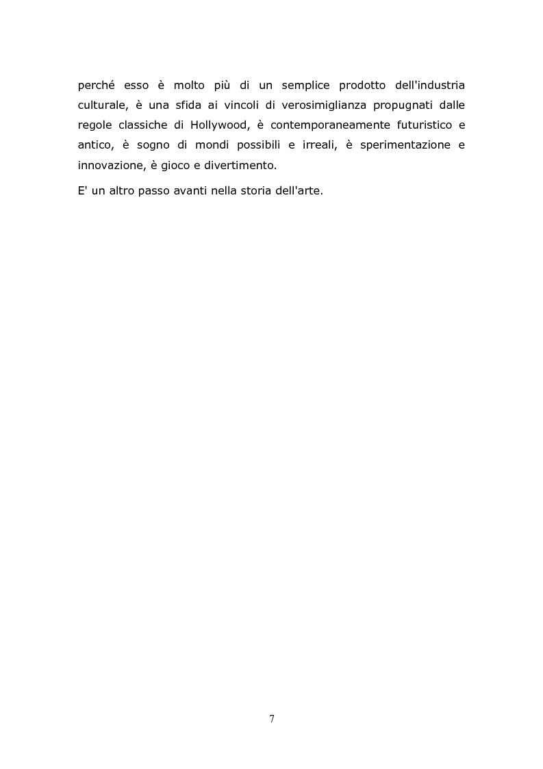 Anteprima della tesi: L'animazione digitale: storia, linguaggi, tecniche, Pagina 7
