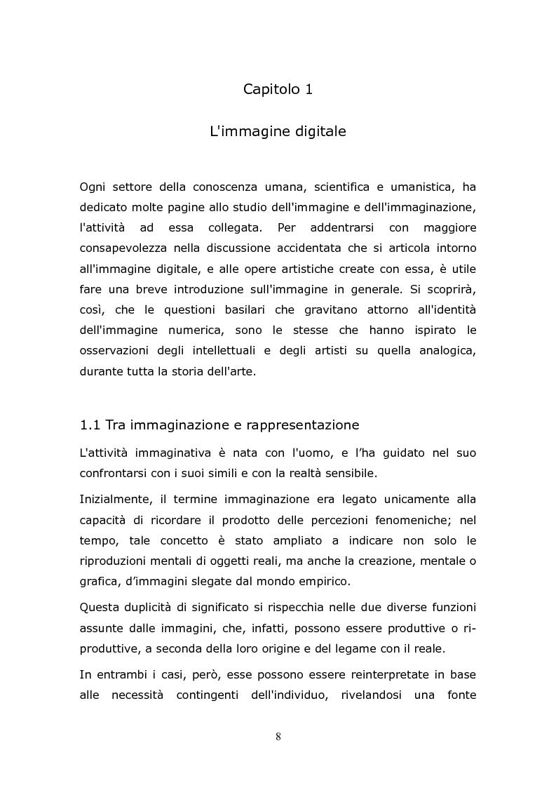 Anteprima della tesi: L'animazione digitale: storia, linguaggi, tecniche, Pagina 8