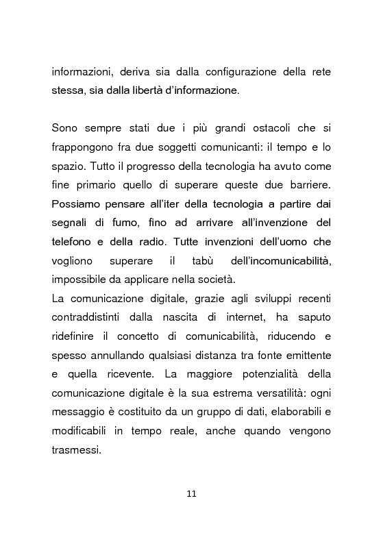 Anteprima della tesi: Giornalismo e social network : l'informazione a due stadi, Pagina 12
