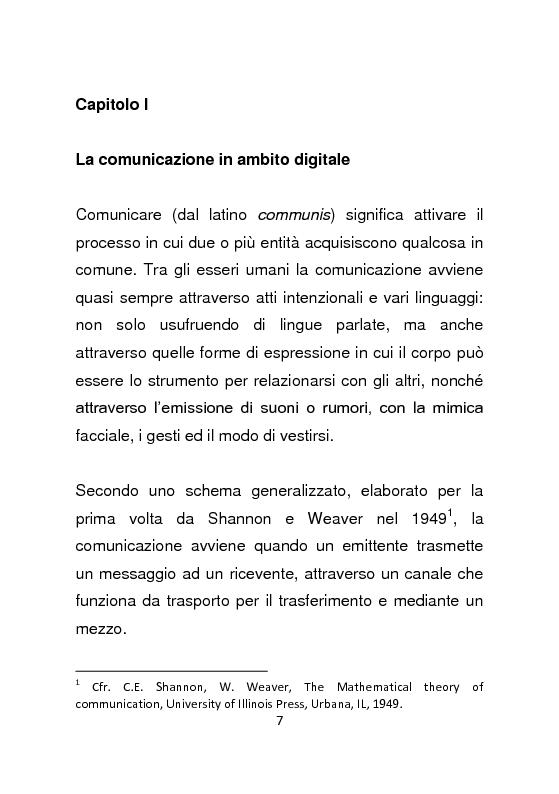 Anteprima della tesi: Giornalismo e social network : l'informazione a due stadi, Pagina 8