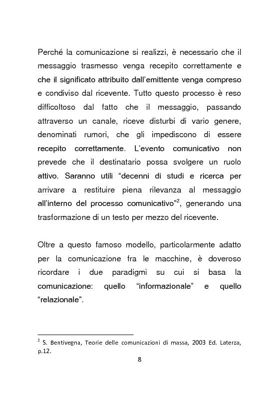 Anteprima della tesi: Giornalismo e social network : l'informazione a due stadi, Pagina 9