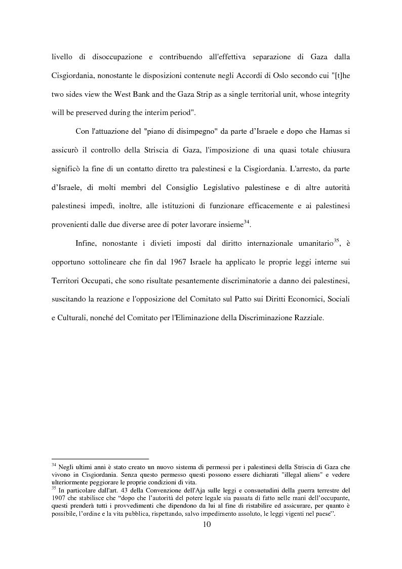 Anteprima della tesi: Il Conflitto di Gaza nel Diritto Internazionale, Pagina 11