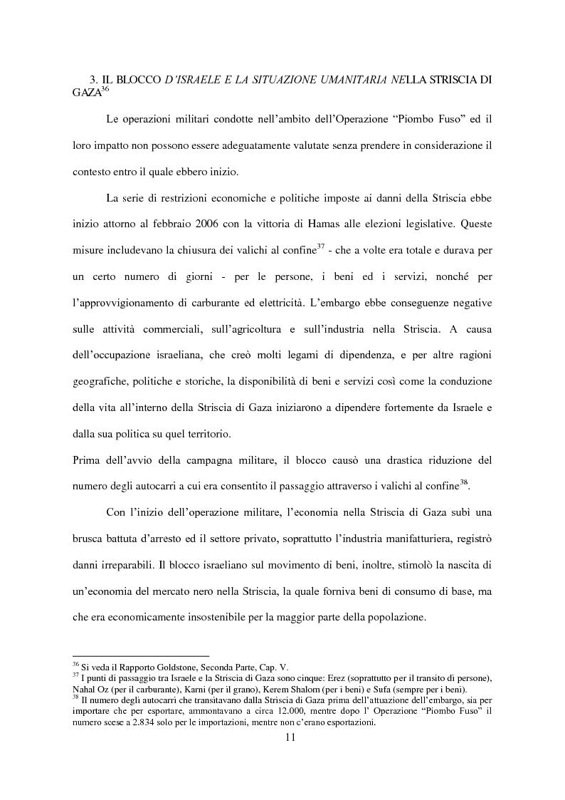 Anteprima della tesi: Il Conflitto di Gaza nel Diritto Internazionale, Pagina 12