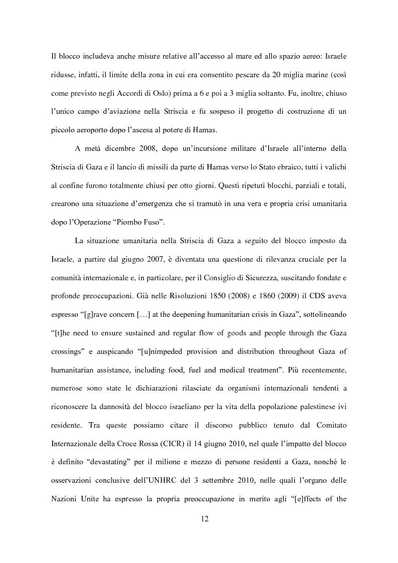 Anteprima della tesi: Il Conflitto di Gaza nel Diritto Internazionale, Pagina 13