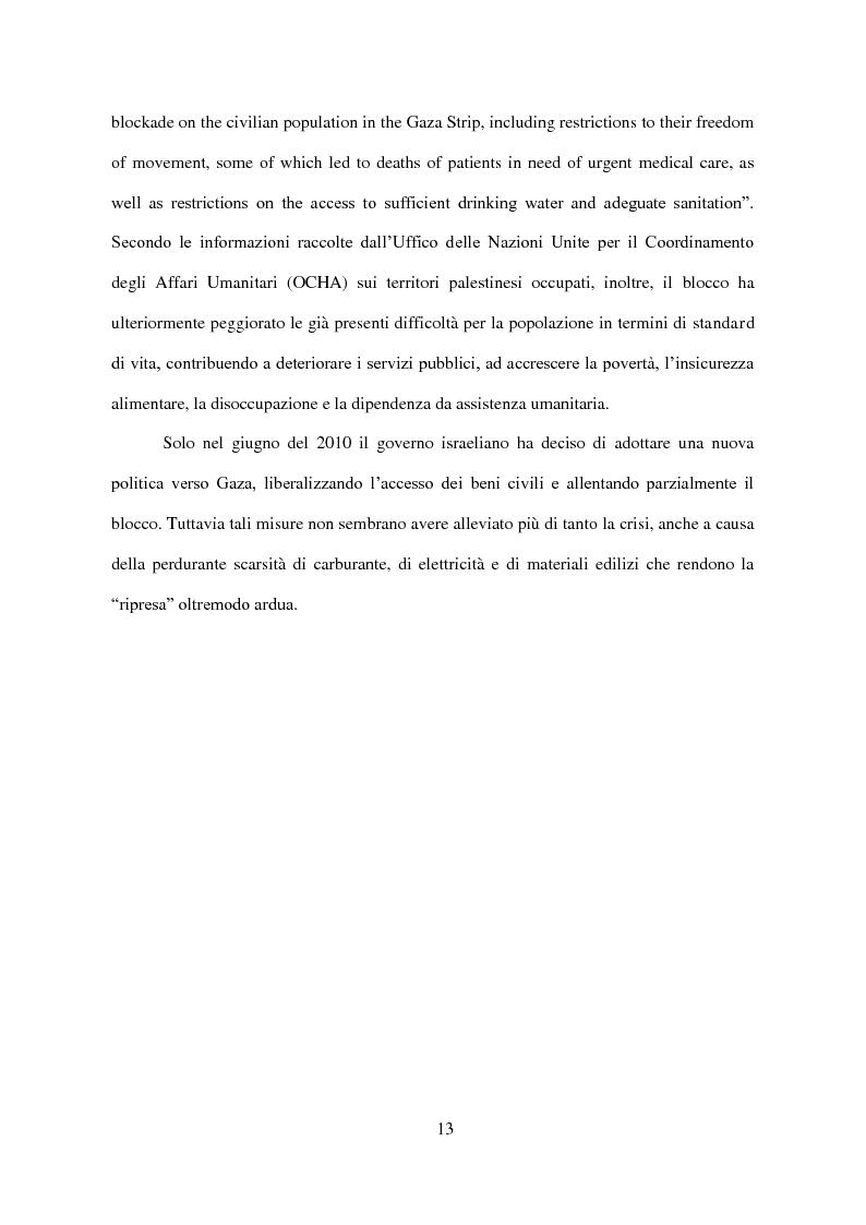 Anteprima della tesi: Il Conflitto di Gaza nel Diritto Internazionale, Pagina 14