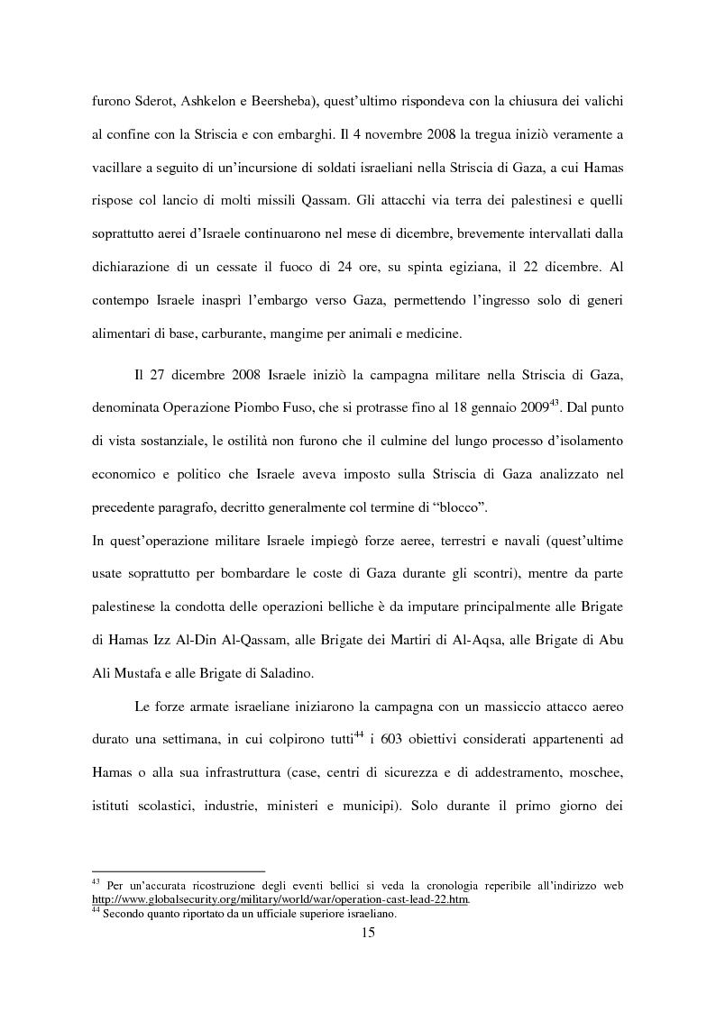 Anteprima della tesi: Il Conflitto di Gaza nel Diritto Internazionale, Pagina 16