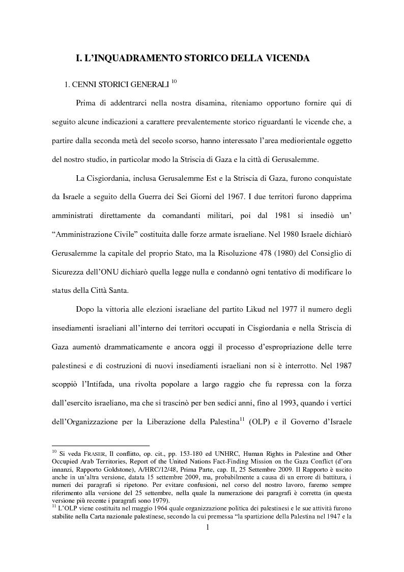 Anteprima della tesi: Il Conflitto di Gaza nel Diritto Internazionale, Pagina 2