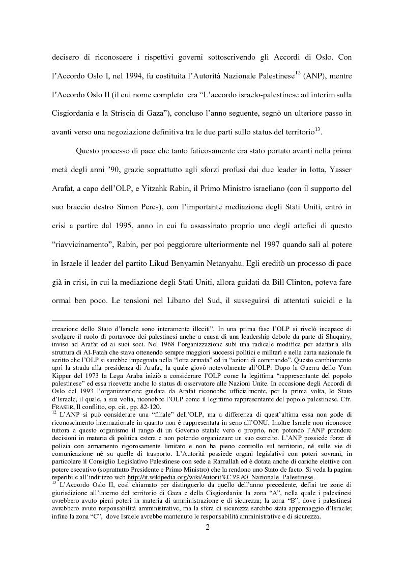 Anteprima della tesi: Il Conflitto di Gaza nel Diritto Internazionale, Pagina 3