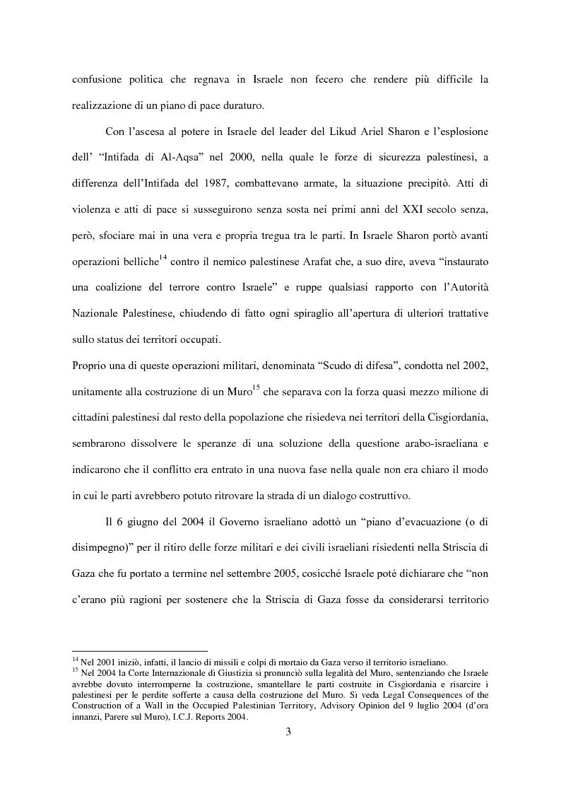 Anteprima della tesi: Il Conflitto di Gaza nel Diritto Internazionale, Pagina 4