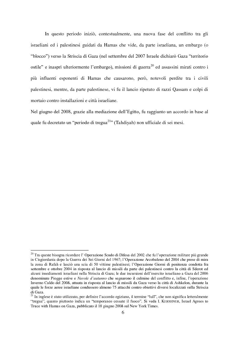 Anteprima della tesi: Il Conflitto di Gaza nel Diritto Internazionale, Pagina 7