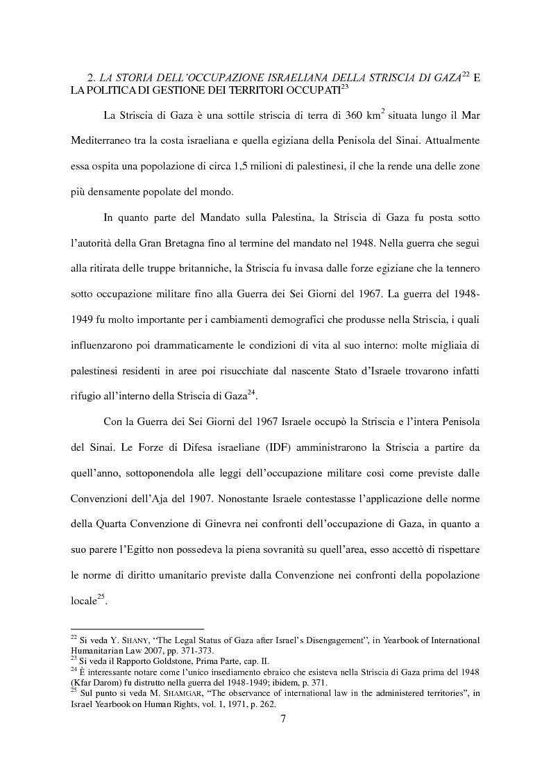Anteprima della tesi: Il Conflitto di Gaza nel Diritto Internazionale, Pagina 8