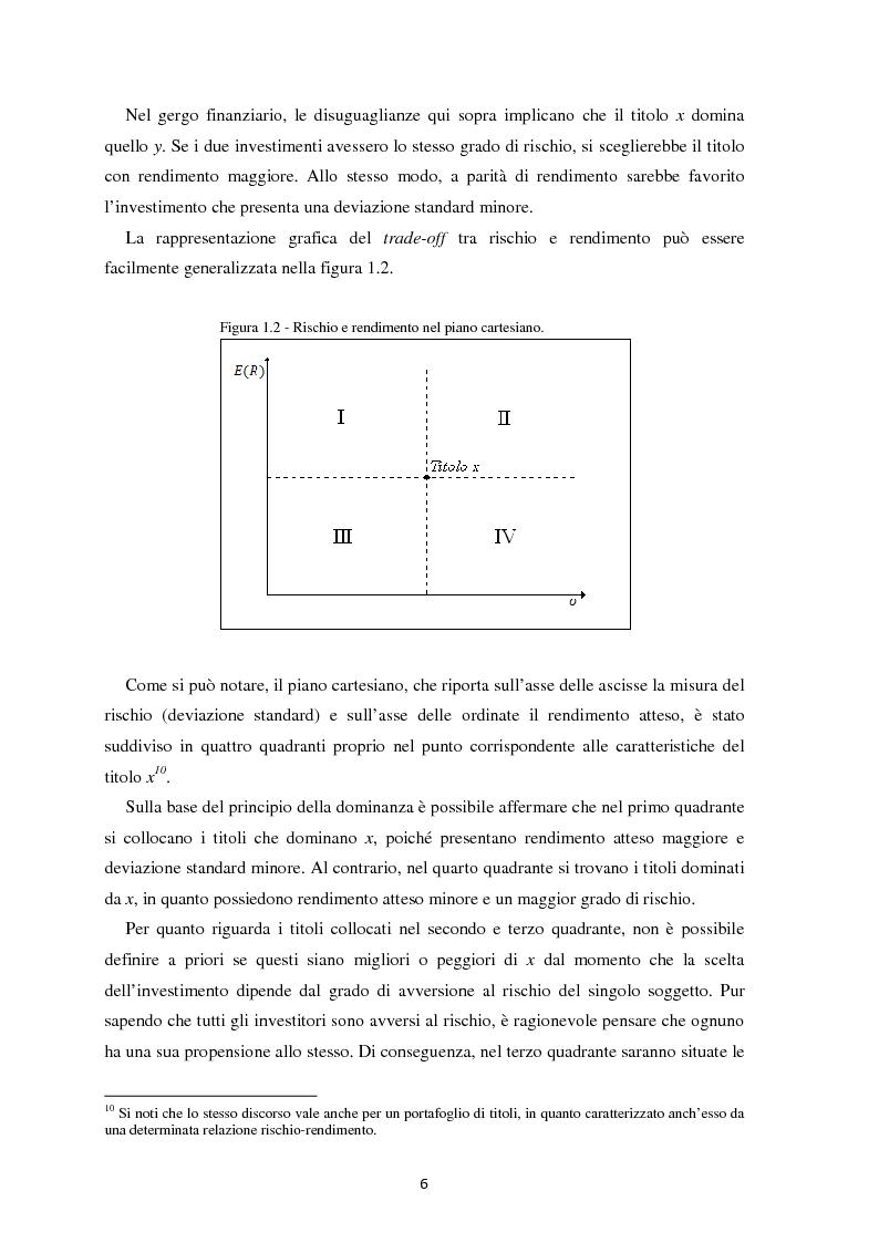 Anteprima della tesi: Scomposizione di portafogli finanziari e replica attraverso Exchange Traded Funds, Pagina 7