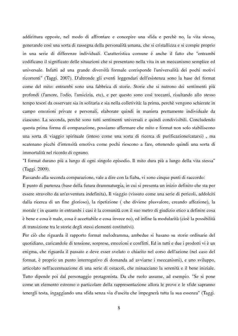 Anteprima della tesi: L'evoluzione del format: dalla televisione generalista alla web tv, Pagina 6