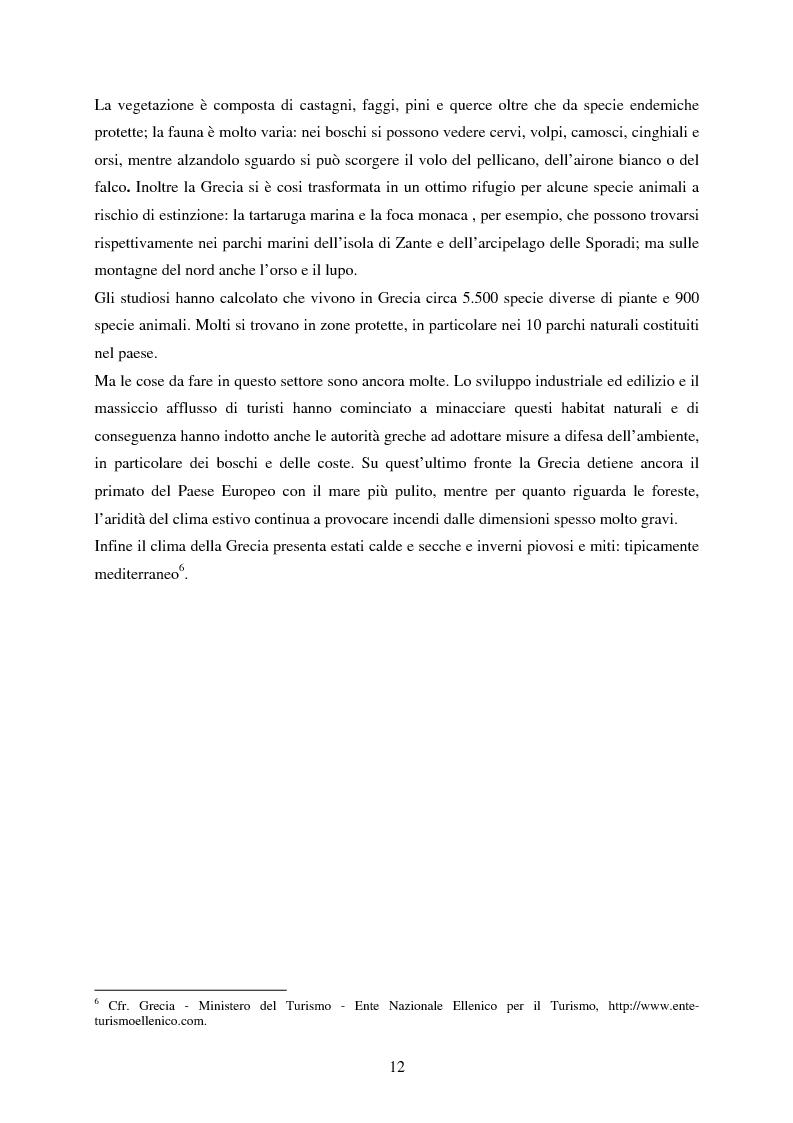 Anteprima della tesi: La rappresentazione della Grecia nel cinema, Pagina 10