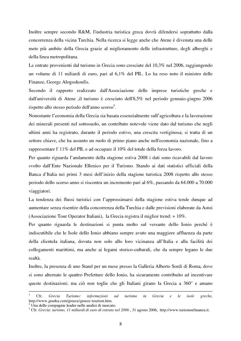 Anteprima della tesi: La rappresentazione della Grecia nel cinema, Pagina 6