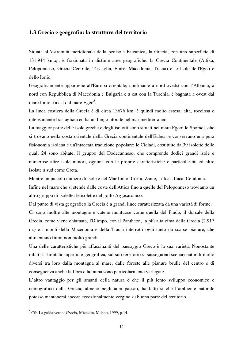 Anteprima della tesi: La rappresentazione della Grecia nel cinema, Pagina 9