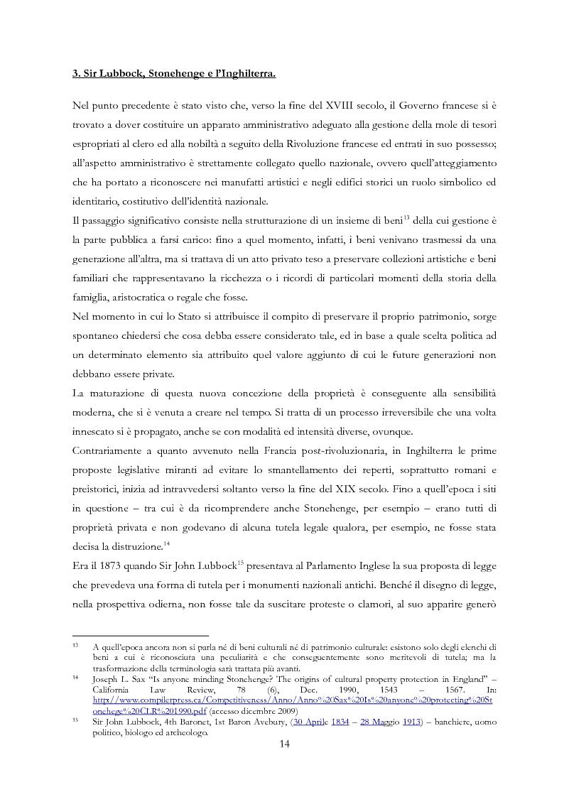 Anteprima della tesi: Le Regioni e il patrimonio culturale nel diritto internazionale, europeo e nazionale. Casi di studio e comparazione tra Italia, Francia e Spagna, Pagina 14