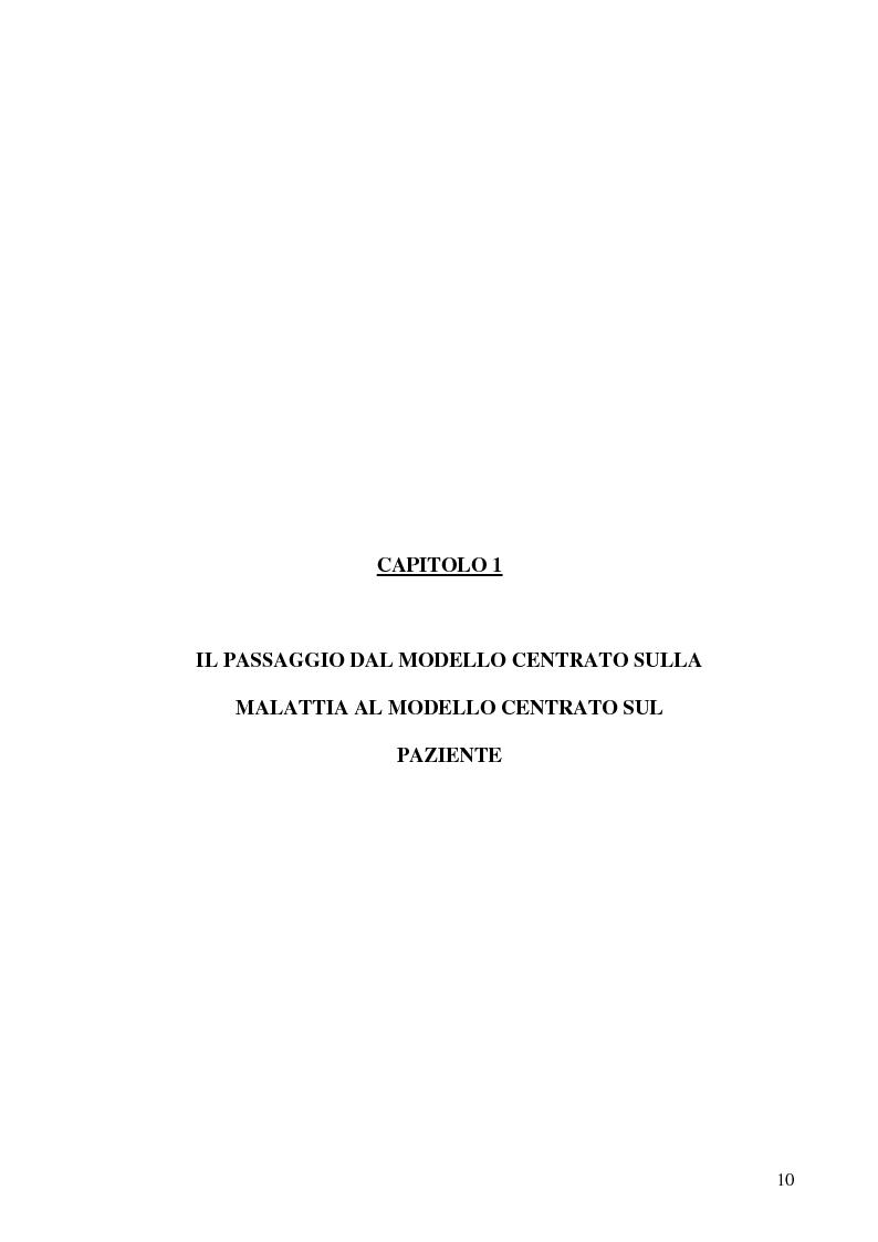 Anteprima della tesi: Modelli teorici e strumenti di analisi della relazione medico-paziente: una proposta di applicazione pratica., Pagina 7