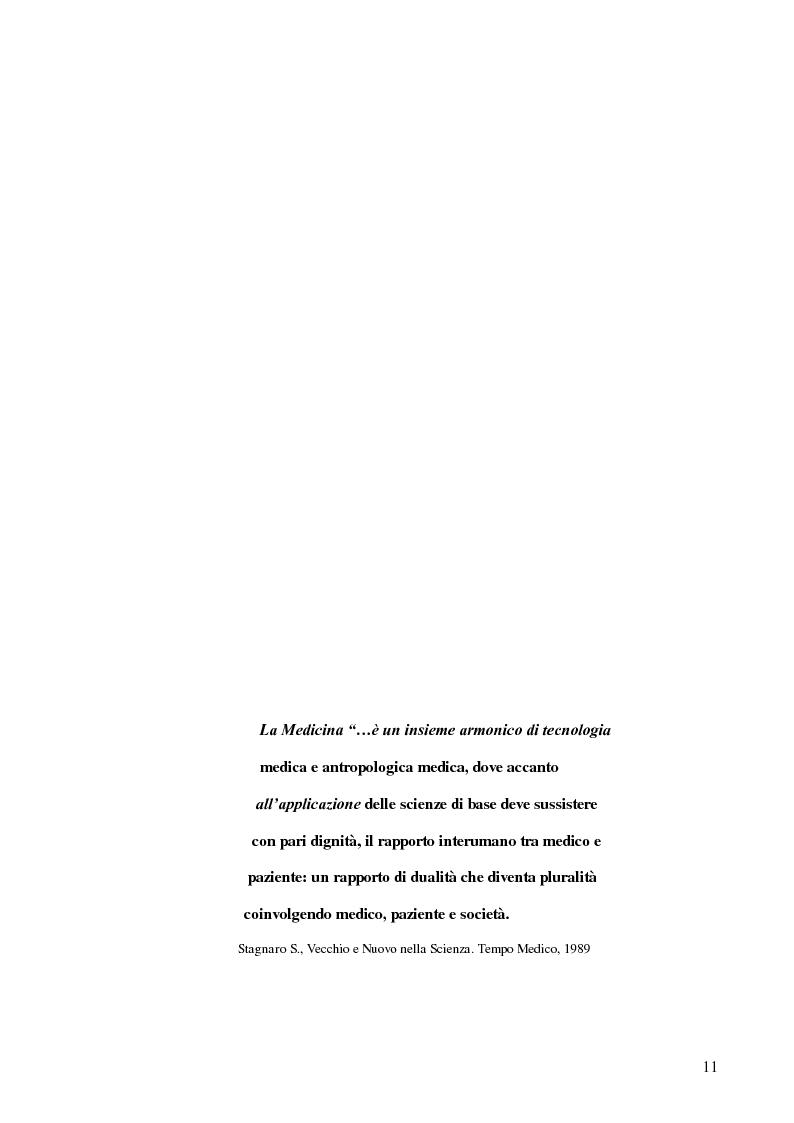 Anteprima della tesi: Modelli teorici e strumenti di analisi della relazione medico-paziente: una proposta di applicazione pratica., Pagina 8