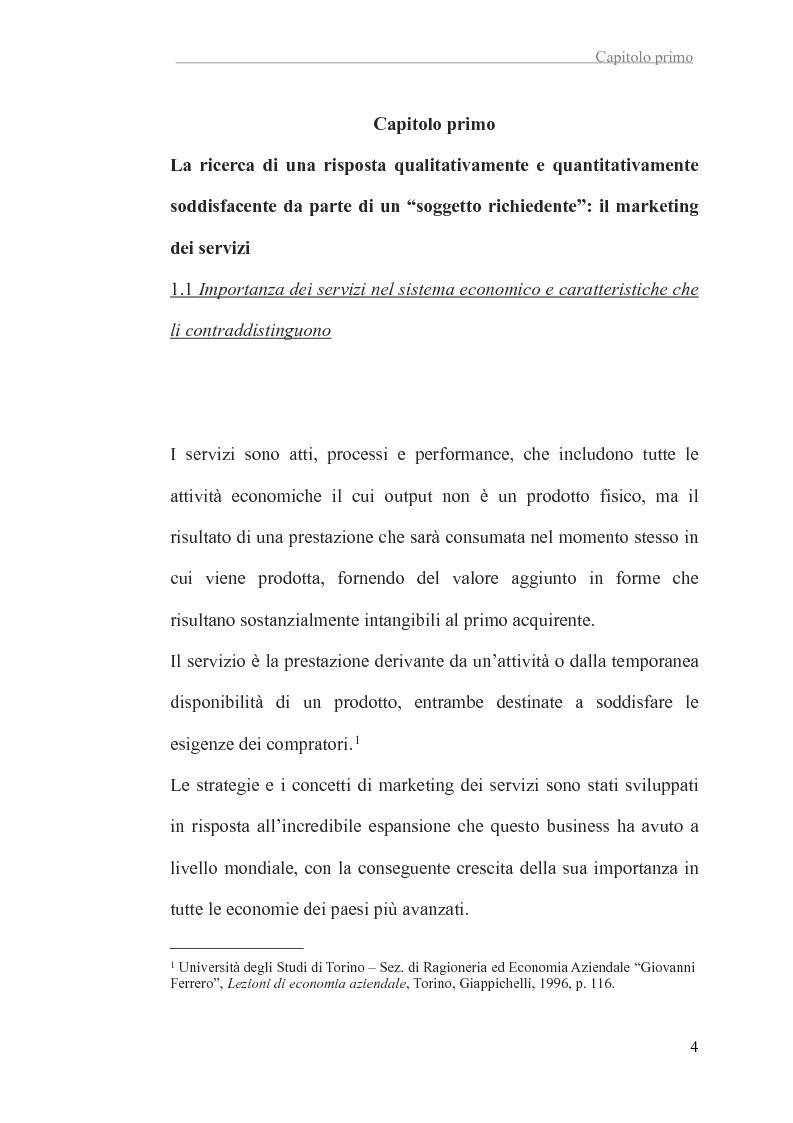 Anteprima della tesi: L'attività di una emittente televisiva e la soddisfazione del cliente, Pagina 5