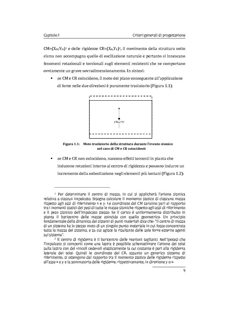 Anteprima della tesi: Applicazione comparata di metodologie per l'analisi sismica di strutture esistenti in cemento armato, Pagina 10