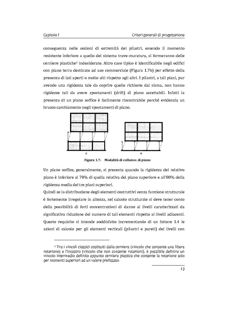 Anteprima della tesi: Applicazione comparata di metodologie per l'analisi sismica di strutture esistenti in cemento armato, Pagina 14