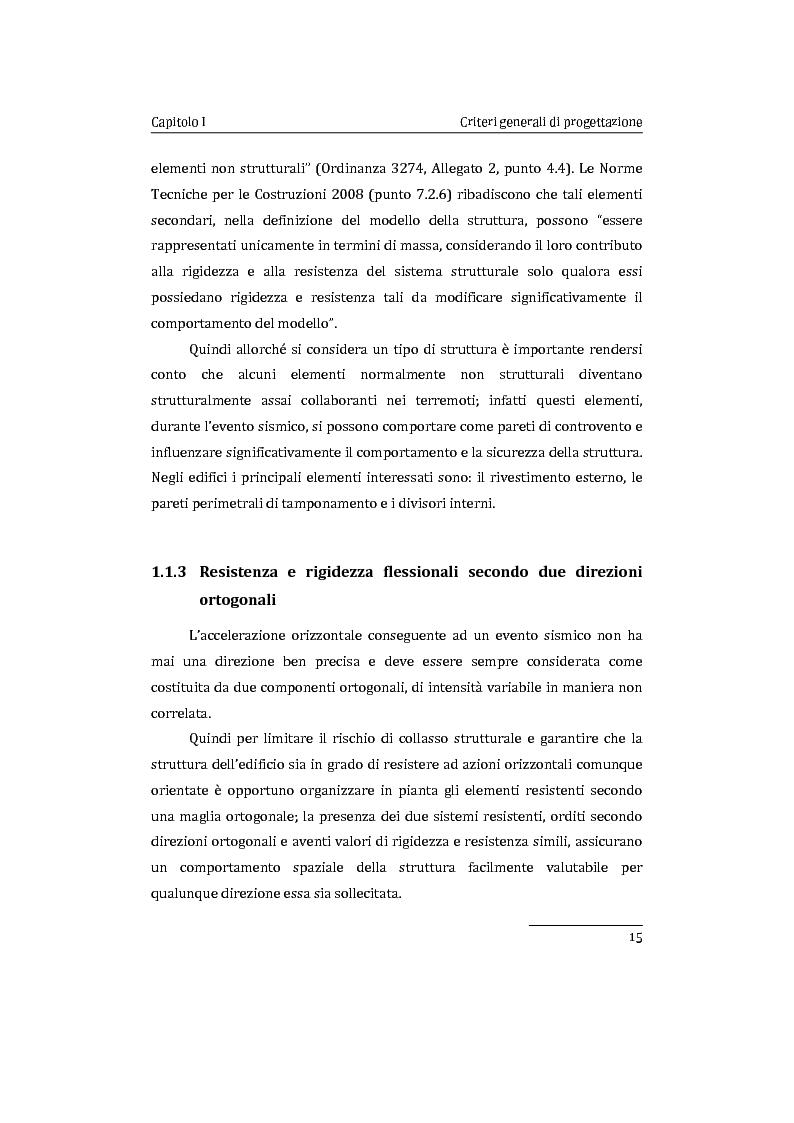 Anteprima della tesi: Applicazione comparata di metodologie per l'analisi sismica di strutture esistenti in cemento armato, Pagina 16