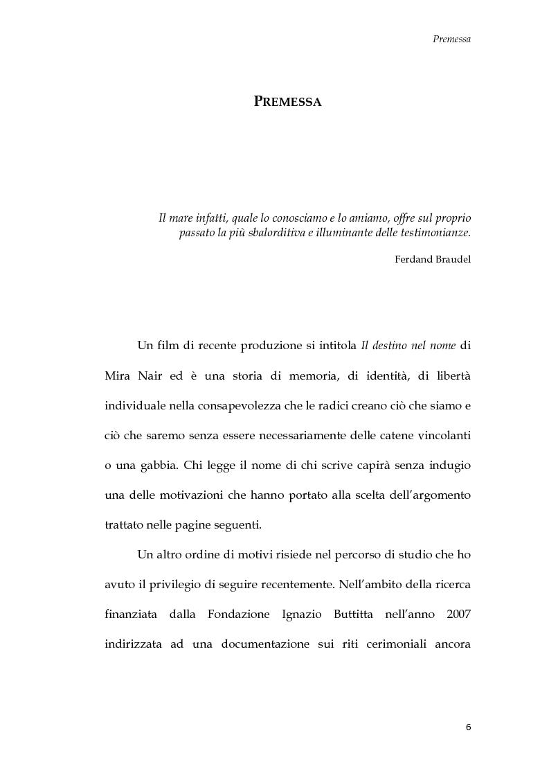 Anteprima della tesi: U Santu Patri: San Francesco da Paola, il padre del mare, Pagina 2