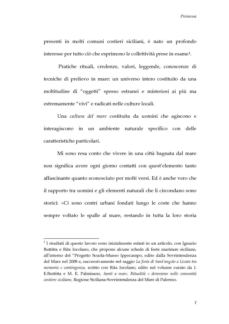 Anteprima della tesi: U Santu Patri: San Francesco da Paola, il padre del mare, Pagina 3